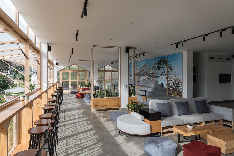 Chiêm ngưỡng quán cà phê ở Đà Lạt lấy ý tưởng từ nhà kính