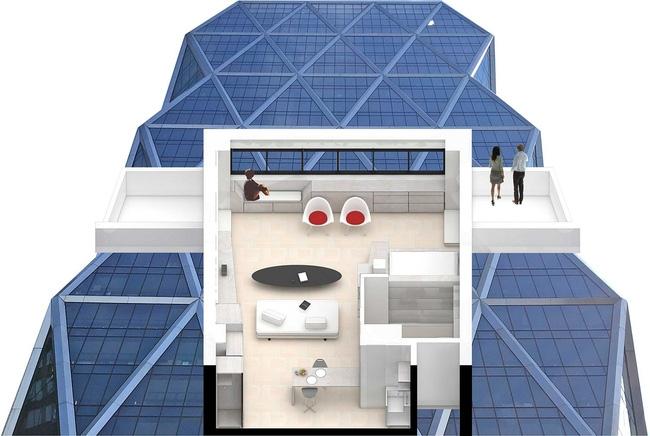 Học lỏm ngay cách phân vùng không gian sống thông minh từ căn hộ nhỏ