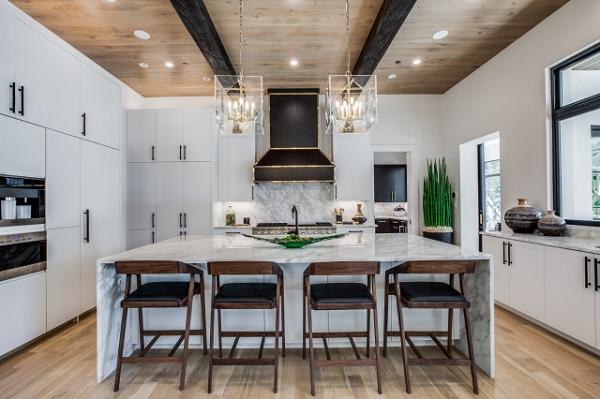 Lêm ý tưởng về màu sắc cho phòng bếp có thể trường tồn với thời gian